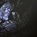 いとなギャラリー展第4回  八田員徳  切り絵展  Muse〜いのちのためのオムニバス〜